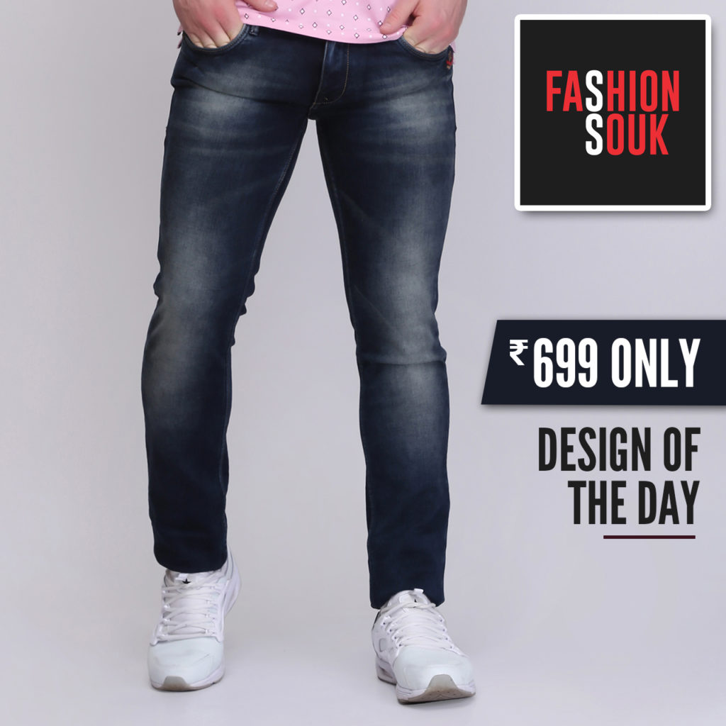 faded jeans slim fit
